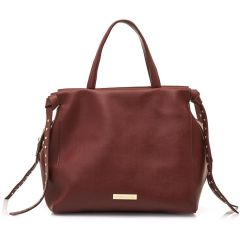 Red hand bag MariaMare LILIT