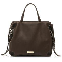 Brown hand bag MariaMare LILIT