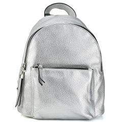 Silver backpack LK-A6071