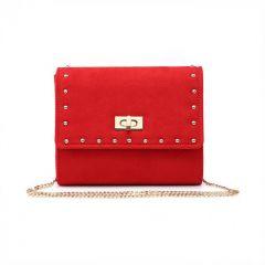 Red shoulder bag 8415