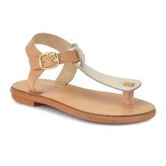 Natural leather junior sandal NN02-1
