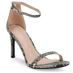 Snake heel sandal P6396