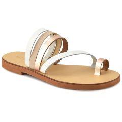 White leather sandal QUOD QD10