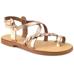 Leather copper sandal QUOD QD30