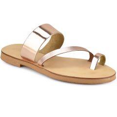 Copper leather sandal QUOD QD9