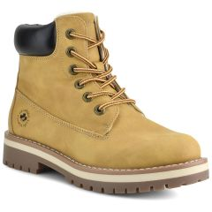Yellow hiking bootie RW001