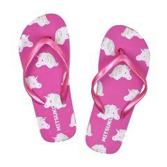 Fuchsia kids flip flop SA51260C