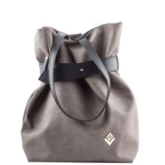 Grey backpack Lovely handmade Safari
