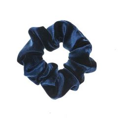 Blue velvet SCRUNCHIES