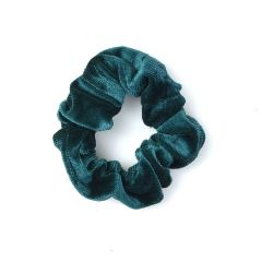 Green velvet SCRUNCHIES