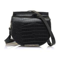 Μαύρη τσάντα χιαστή MariaMare SYRA