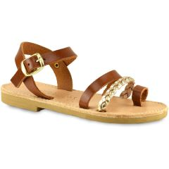 Tabac junior leather sandal Tsakiris Sandals TSP160