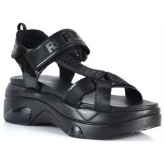 Black chunky sole sandals REPLAY WELLOW