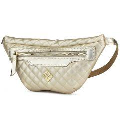 Χρυσή τσάντα μέσης Lovely handmade XBELTBAG