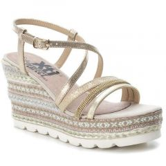 Gold ethnic wedge Xti 47776