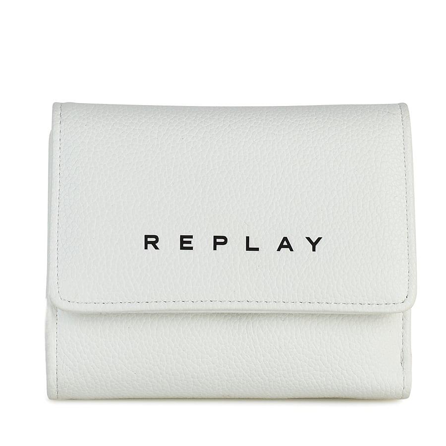 Λευκό πορτοφόλι REPLAY FW5258