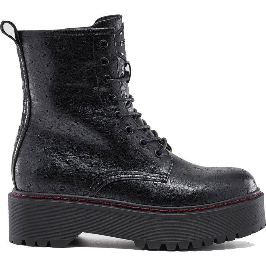 Μαύρο biker boot REPLAY KELLEY