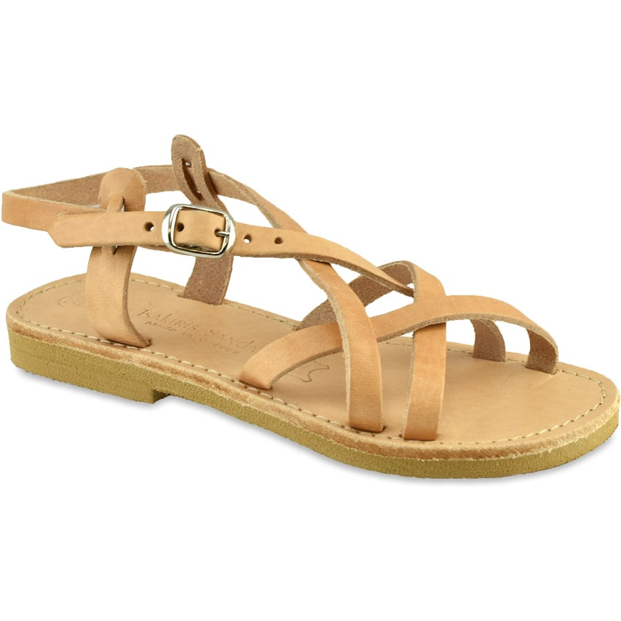 Δερμάτινο φυσικό παιδικό σανδάλι Tsakiris Sandals TSP154