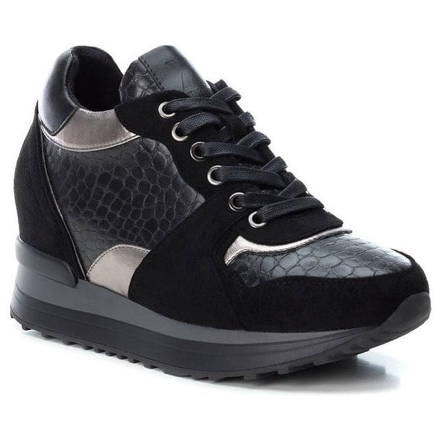 Μαύρο sneaker Xti 49459