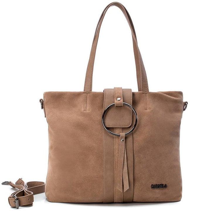 Δερμάτινη πούρο τσάντα ώμου Carmela 83315