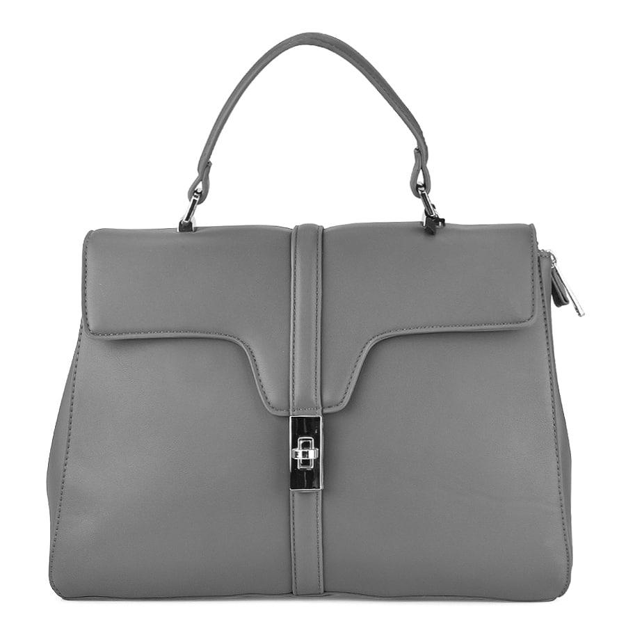 Γκρι τσάντα χειρός 2720-28