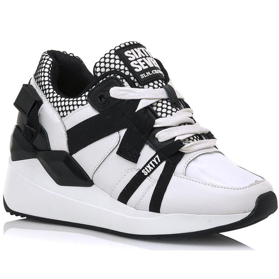 Λευκό sneaker SIXTYSEVEN 30210
