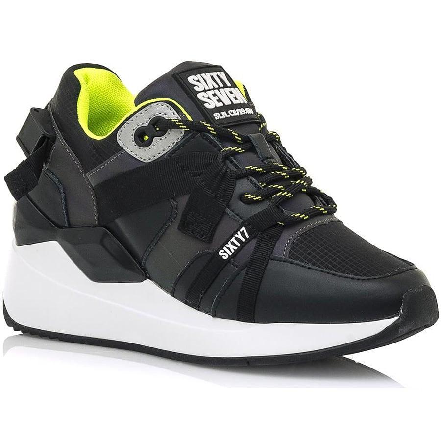 Mαύρο sneaker SIXTYSEVEN 30210
