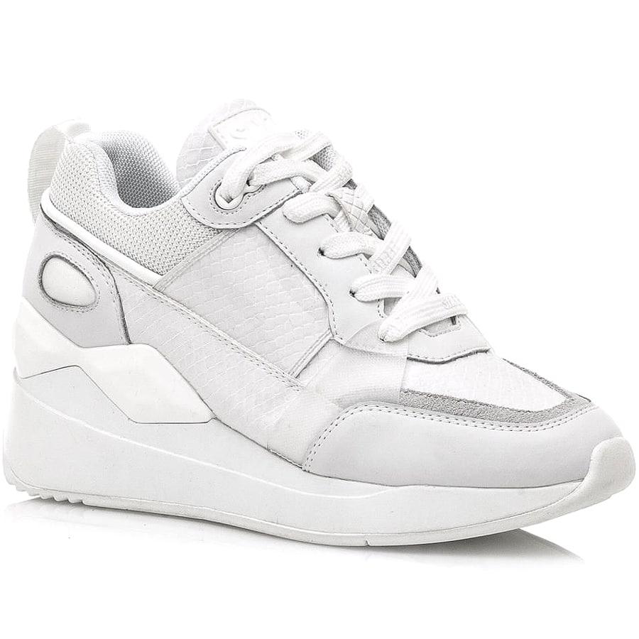 Δερμάτινο λευκό sneaker SIXTYSEVEN 30215