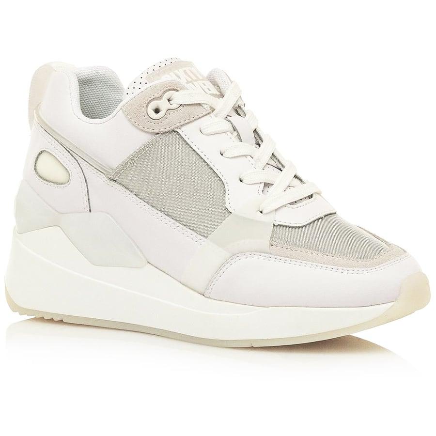 Δερμάτινο λευκό sneaker SIXTYSEVEN 30488