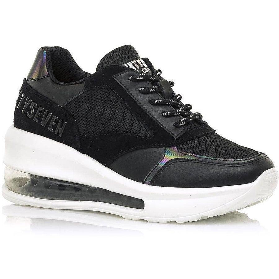 Μαύρο sneaker SIXTYSEVEN 30741