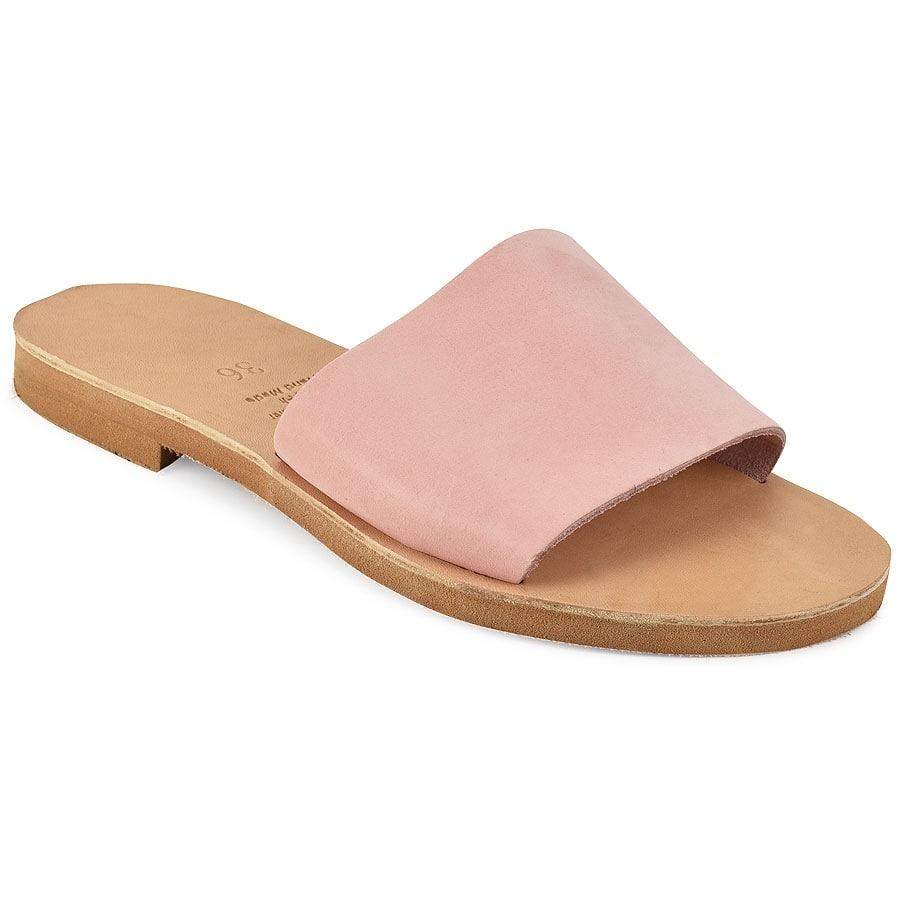 Δερμάτινη ροζ σαγιονάρα Iris Sandals IR4/1