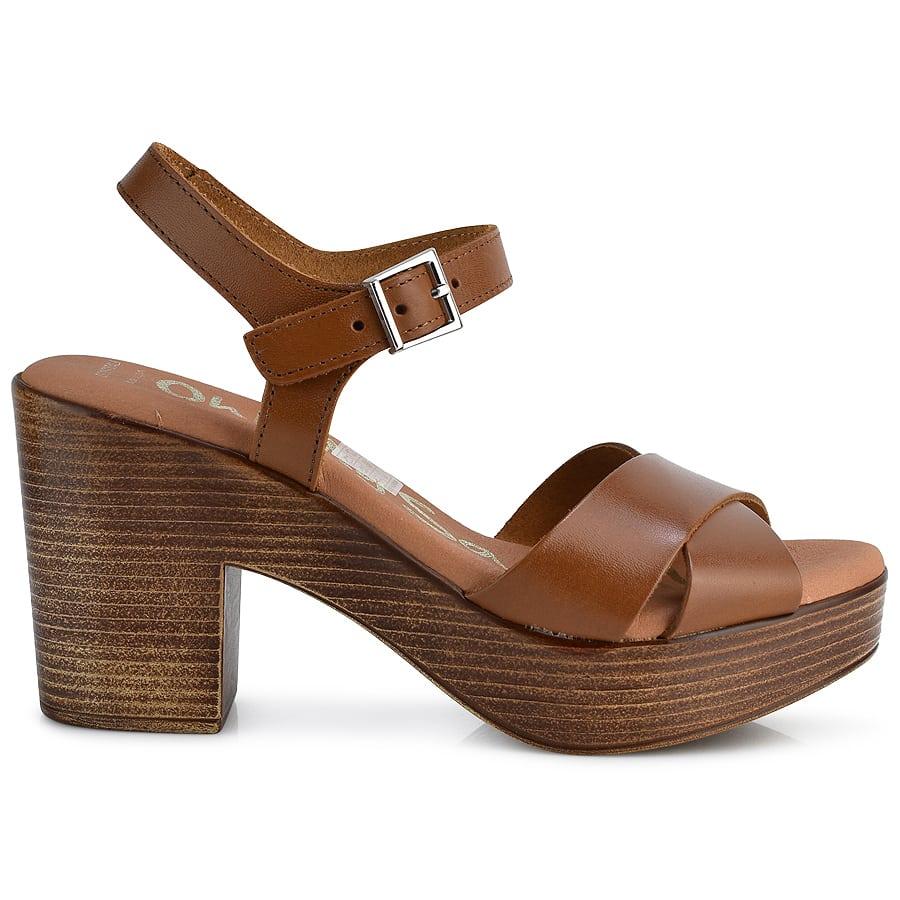 Δερμάτινο ταμπά πέδιλο Oh my Sandals 4901