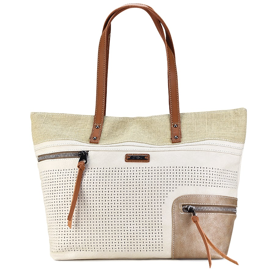 Mπεζ τσάντα ώμου David Jones 5779-2