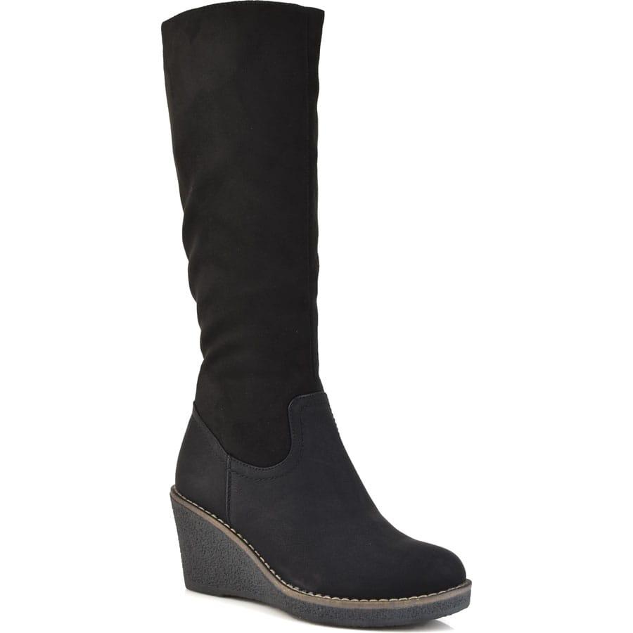 Μαύρη μπότα 6625