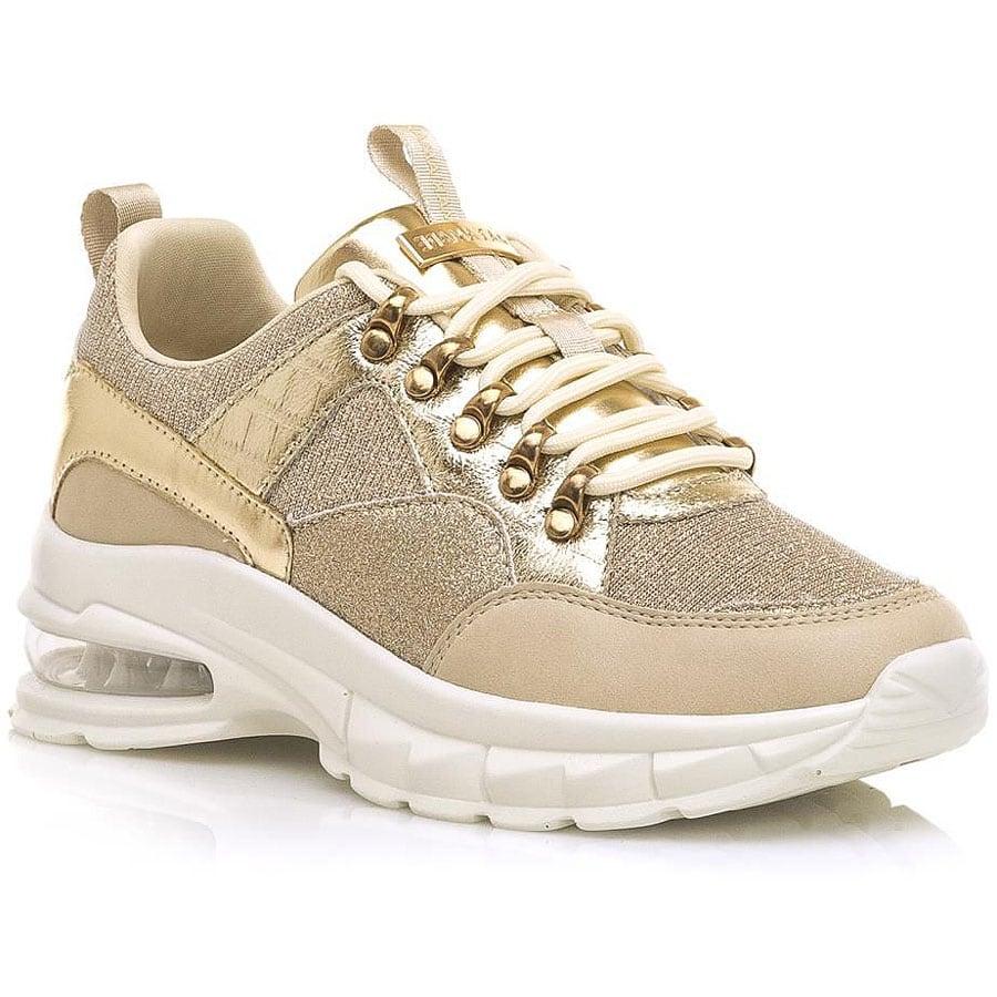 Χρυσό sneaker MariaMare 62802