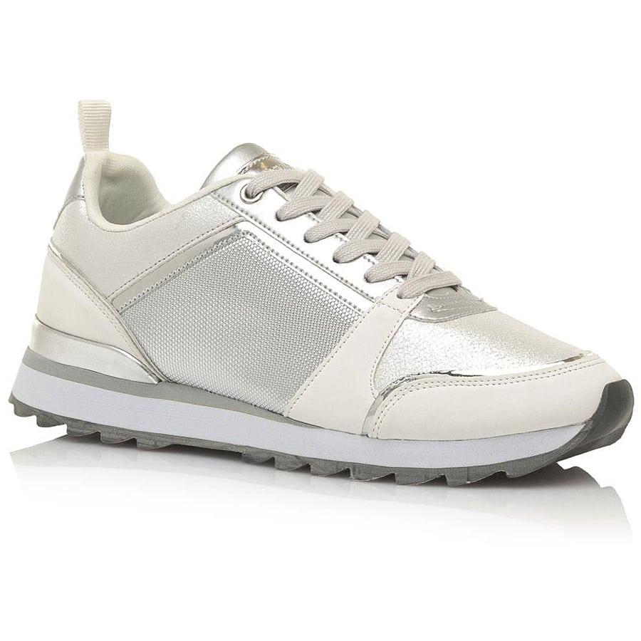 Ασημί sneaker MariaMare 67637