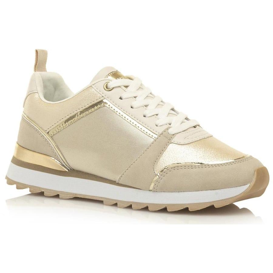 Χρυσό sneaker MariaMare 67637