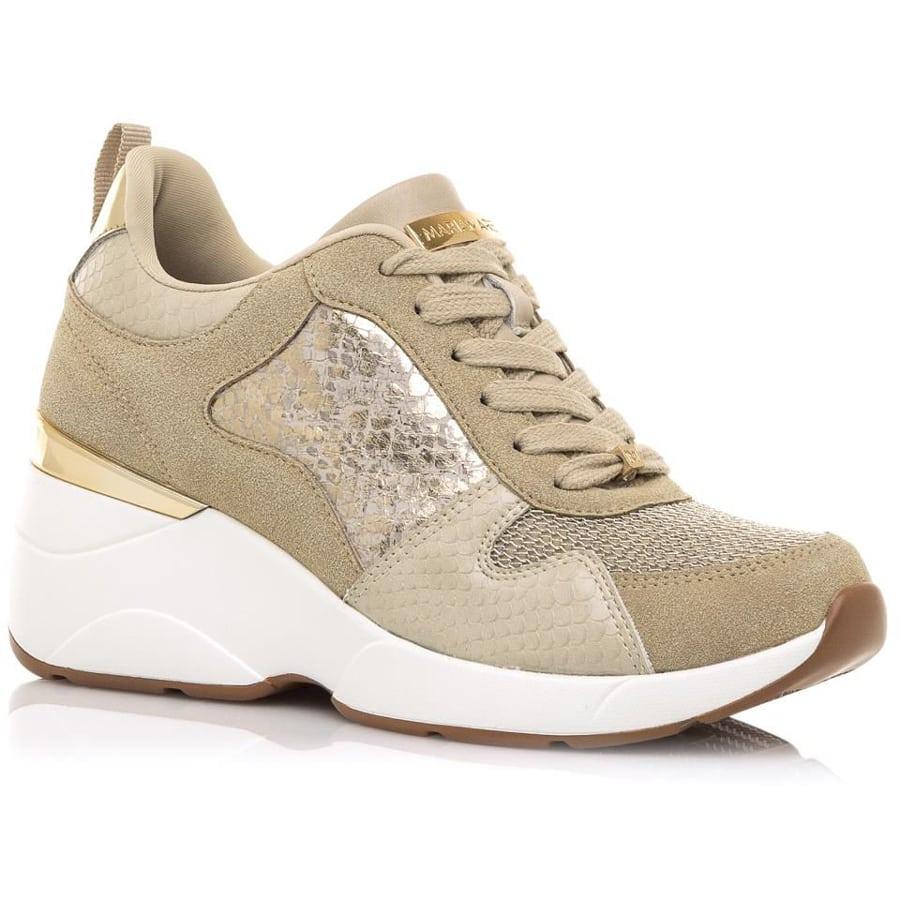 Χρυσό sneaker MariaMare 68034