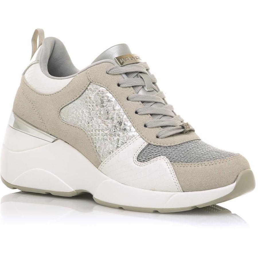 Ασημί sneaker MariaMare 68034
