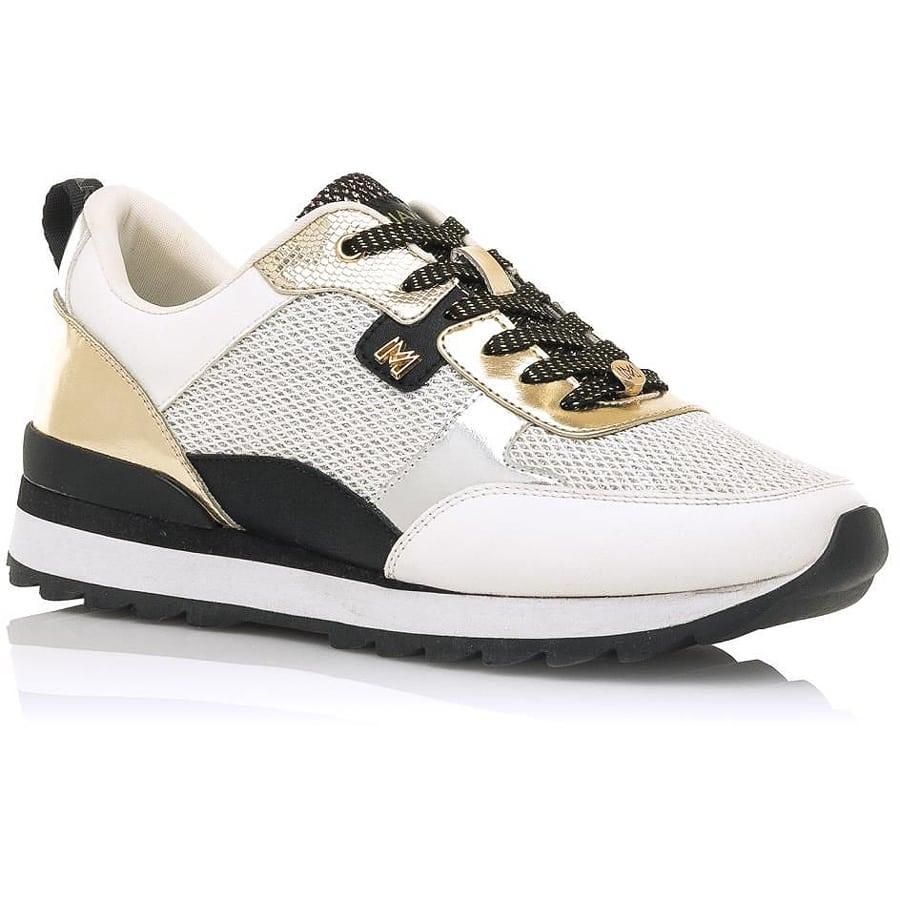 Μαύρο χρυσό sneaker MariaMare 68101