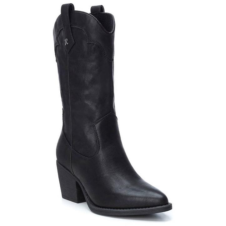 Μαύρη μπότα Refresh 69304