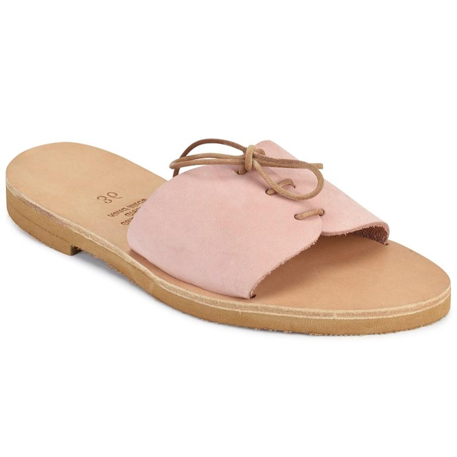 Δερμάτινη ροζ σαγιονάρα Iris Sandals IR8/8