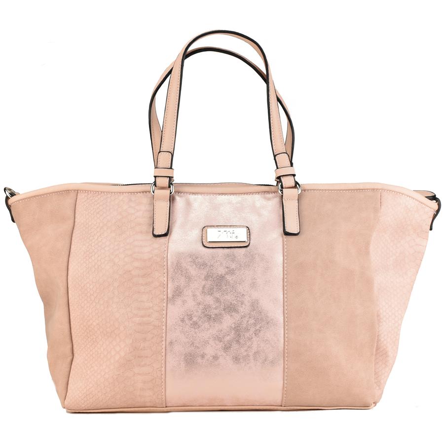 Nude μεταλλική τσάντα ώμου Xti 85931