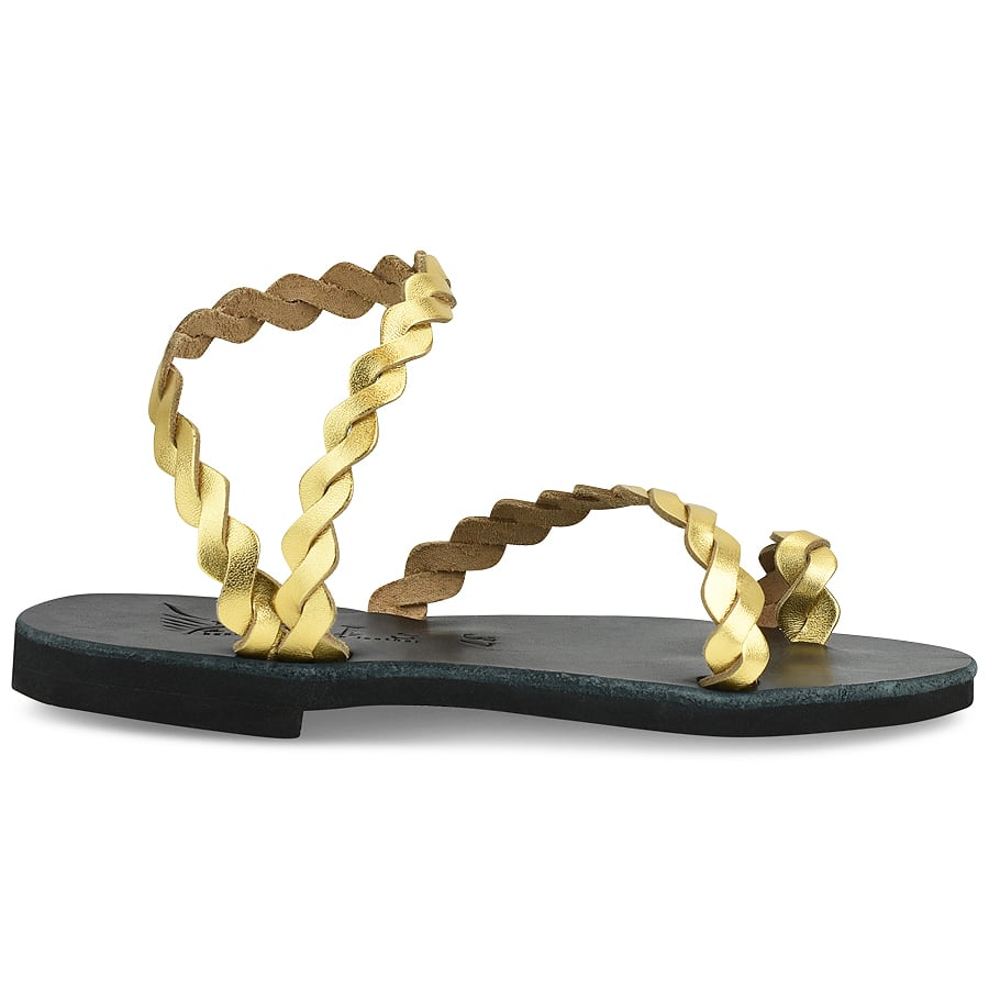 Δερμάτινο χρυσό σανδάλι Iris Sandals IR9/13