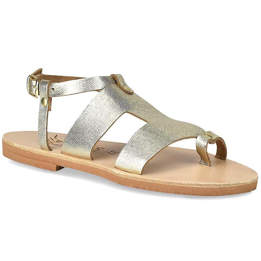Δερμάτινo χρυσό σανδάλι Iris Sandals IR9/9