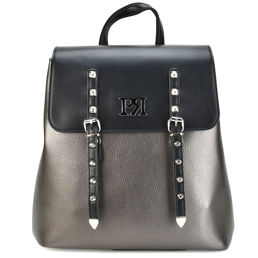 Ατσαλί eco-leather σακίδιο πλάτης Pierro Accessories 90548