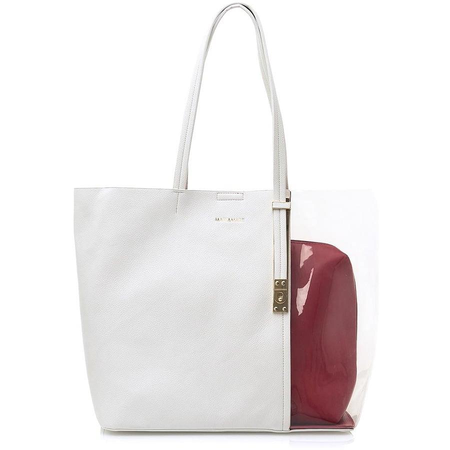 Λευκή τσάντα ώμου MariaMare ALESSA