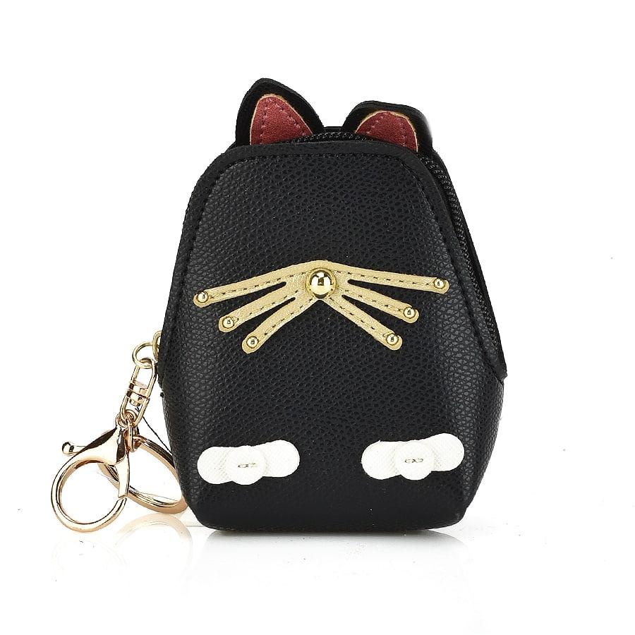 Μαύρο πορτοφολάκι CAT01