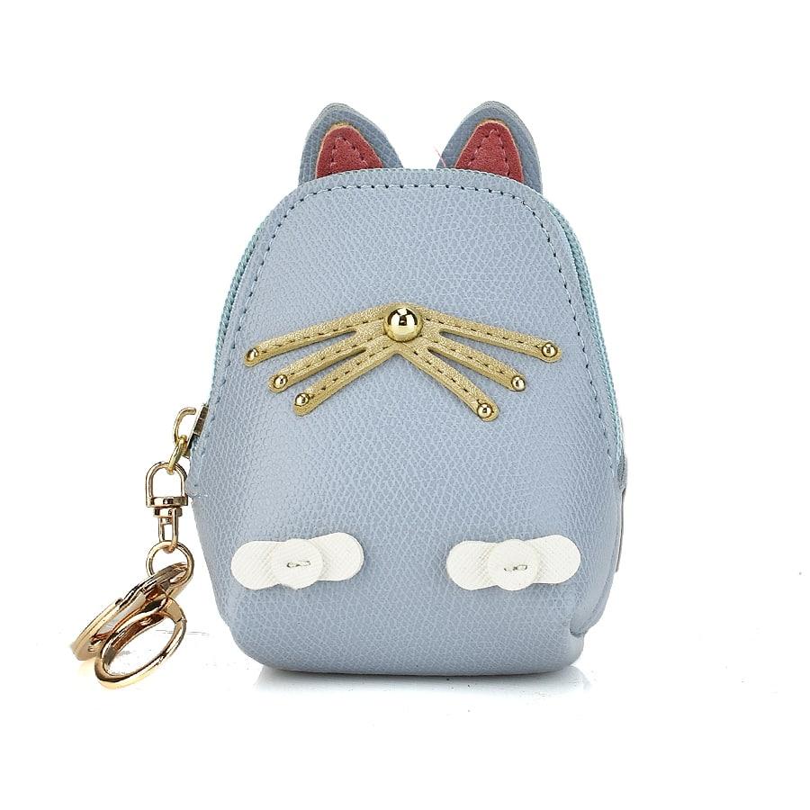 Γαλάζιο πορτοφολάκι CAT01