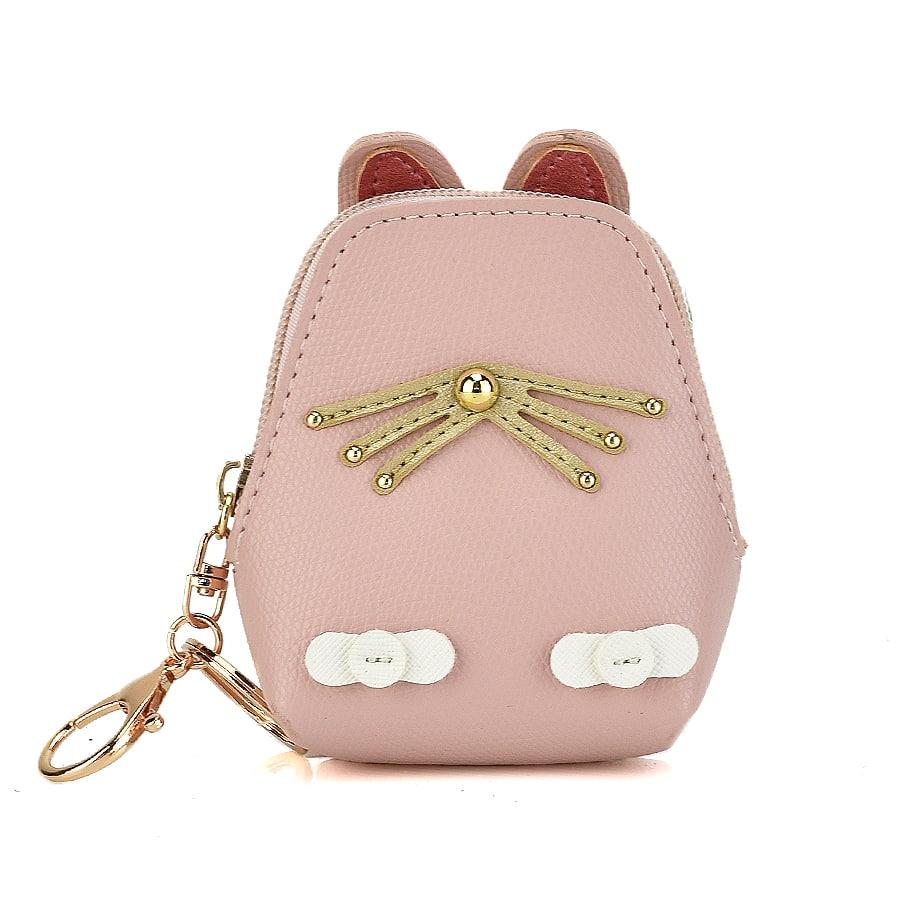 Ροζ πορτοφολάκι CAT01